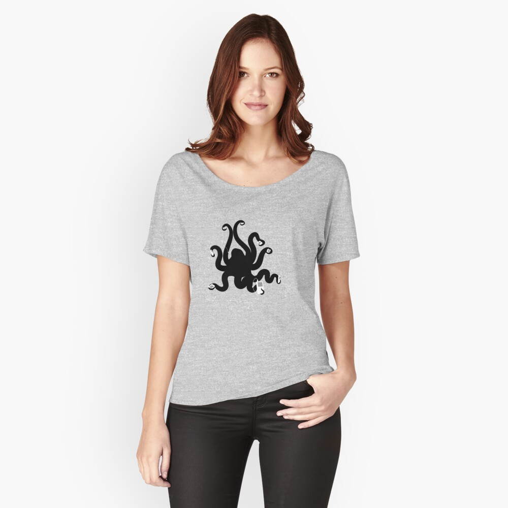 Octipod Women's Relaxed Fit T-Shirt Front