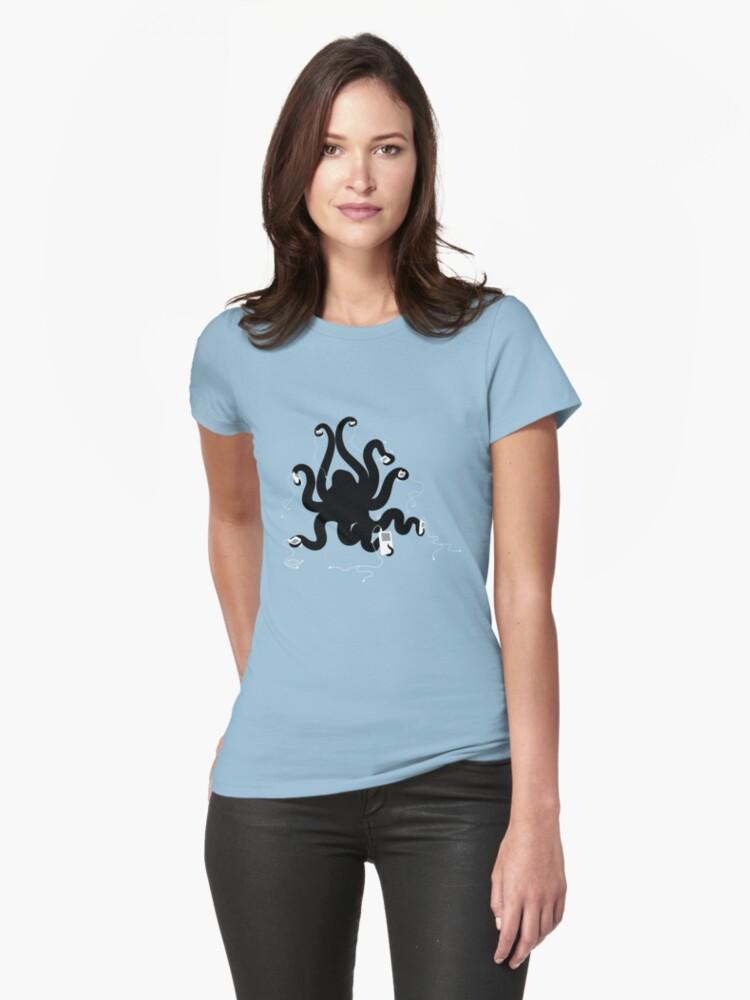 Octipod Womens T-Shirt Front