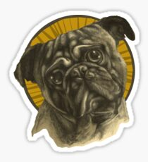 Holy Pug! Sticker