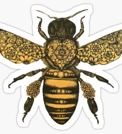 Bee Sticker