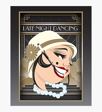 Late Night Dancing Photographic Print