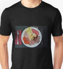 Catalonian lunch plate Unisex T-Shirt