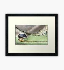 Mountain Home Framed Print