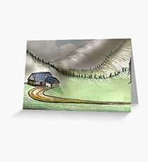 Mountain Home Greeting Card