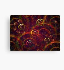 Artistic Abstract Multicolored Canvas Print