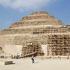 Step Pyramid of Djoser in December 2010 by renprovo
