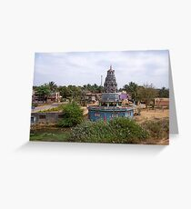 Temples Greeting Card