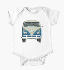 Volkswagen, Van, VW, Camper, Blue, Split screen, 1966 Volkswagen, Kombi (North America) Kids Clothes