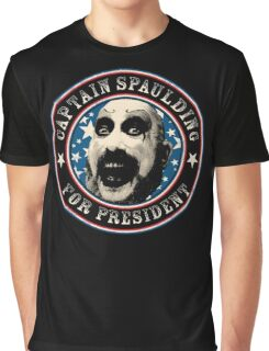 Captain Spaulding for President Graphic T-Shirt