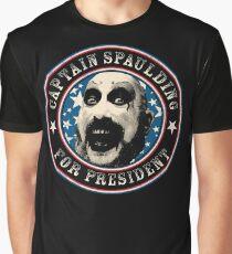 Captain Spaulding for President Graphic T-Shirt