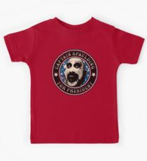 Captain Spaulding for President Kids Tee