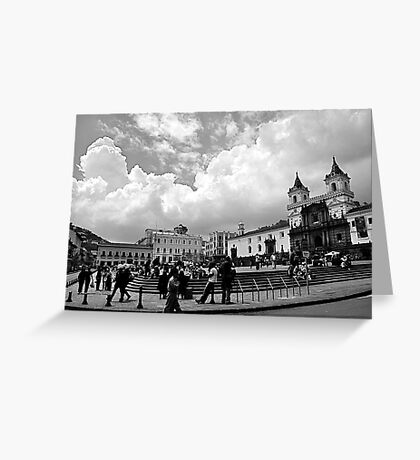 The Plaza Greeting Card