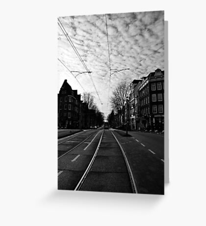 New Year's Day in Amsterdam Greeting Card