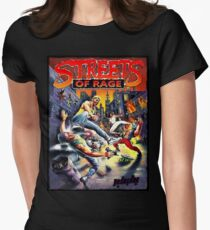 Streets of Rage ★ Womens Fitted T-Shirt