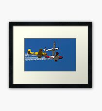 Break Away Framed Print