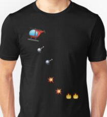 Throwing Grenades Unisex T-Shirt