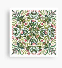 Little red riding hood - mandala pattern Canvas Print