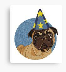 Magic Pug Sorceror Canvas Print