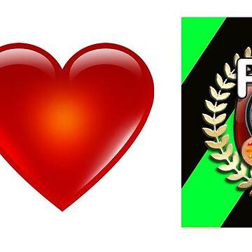 I Love PFA (Green) by szymczuk