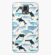 Whales, Orcas & Narwhals Case/Skin for Samsung Galaxy