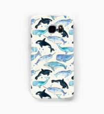 Whales, Orcas & Narwhals Samsung Galaxy Case/Skin
