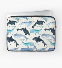 Whales, Orcas & Narwhals Laptop Sleeve