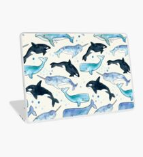 Whales, Orcas & Narwhals Laptop Skin