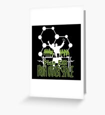 Plan ESB From Outer Space Greeting Card