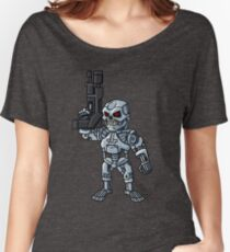 TIME TRAVELING CYBORG Women's Relaxed Fit T-Shirt