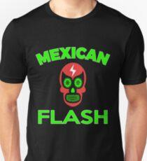 Mexican Flash Super Skull Hero T-shirt T-Shirt