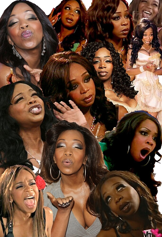 TIFFANY POLLARD: Collage by Zach Williams