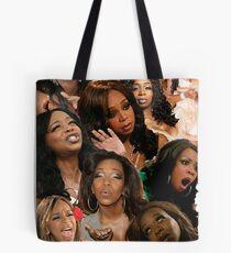 TIFFANY POLLARD: Collage Tote Bag