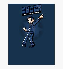 Ender vs. The Buggers Photographic Print