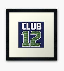Club 12 Framed Print