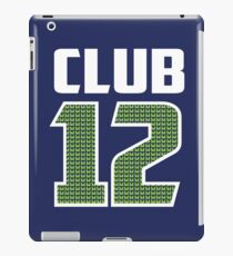 Club 12 iPad Case/Skin