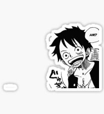 One Piece Luffy  Sticker