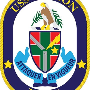 USS Simpson (FFG-56) Navy Patch by shortsleeve