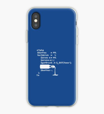 PHP: 99 bottles o' beer VRS2 iPhone Case