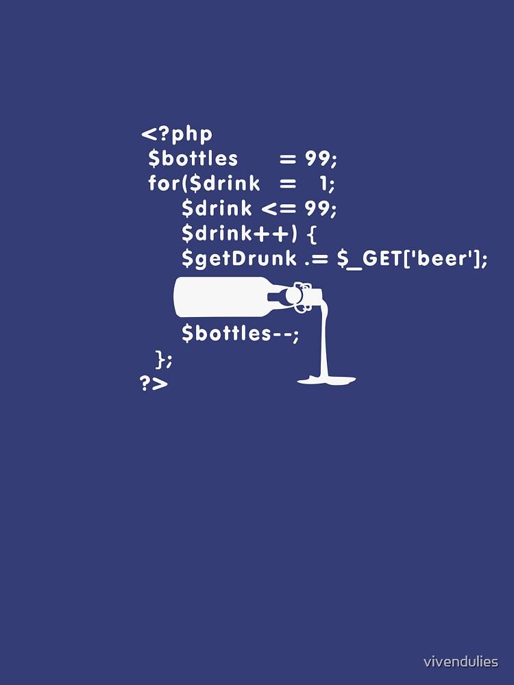 PHP: 99 bottles o' beer VRS2 by vivendulies
