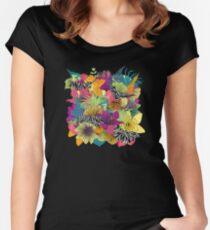 wondergarden Women's Fitted Scoop T-Shirt