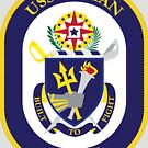 USS Mahan (DDG-72) Navy Patch by shortsleeve