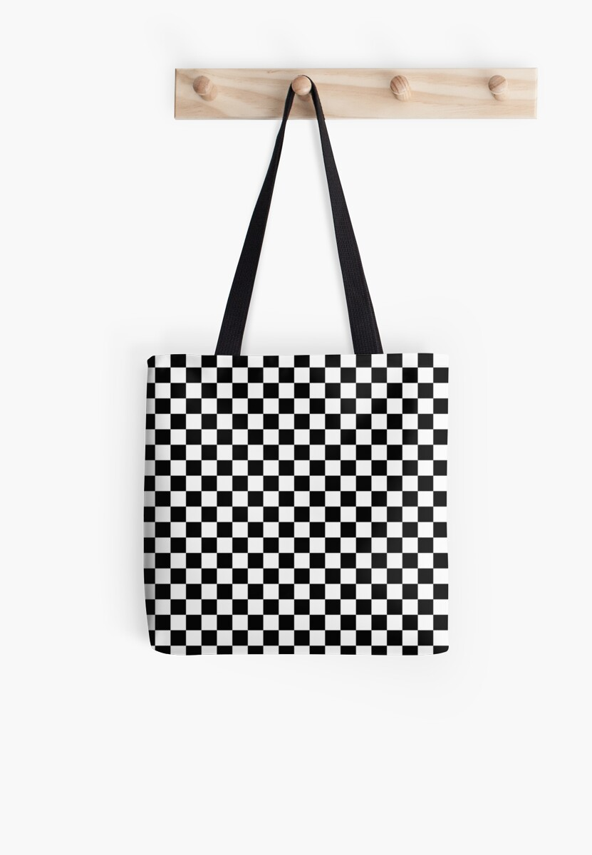 Check pattern. Checkered pattern. Black and white check pattern ...