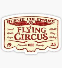 Bessie Coleman's Flying Circus Sticker