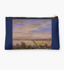Sunset over Lake Ray Hubbard Studio Pouch