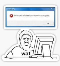 st%2Csmall%2C215x235 pad%2C210x230%2Cf8f8f8.lite 1 wat lady meme stickers redbubble