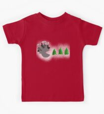Pac Man Trees Kids Clothes