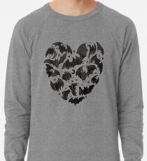 Bat Heart Lightweight Sweatshirt