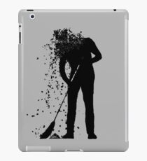 broom man iPad Case/Skin