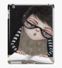 Zoey Reading the Book of Magic iPad Case/Skin