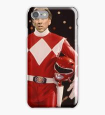 Nick Cage Red Ranger iPhone Case/Skin